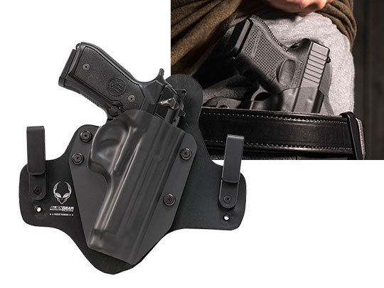 Hybrid IWB Leather holster for Beretta 92