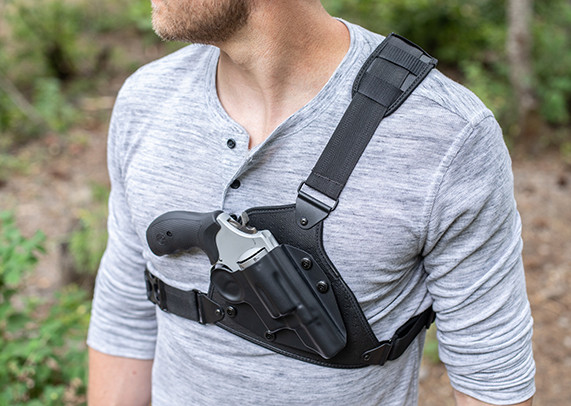 """Sportsman/'s Chest Rig ® for Smith /& Wesson /""""L-Frame/"""" Revolvers"""