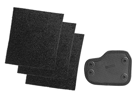 Adhesive Cloak Mod Velcro Holster Base with pads