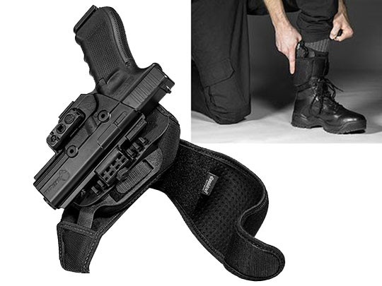 Glock 22 ShapeShift Ankle Holster