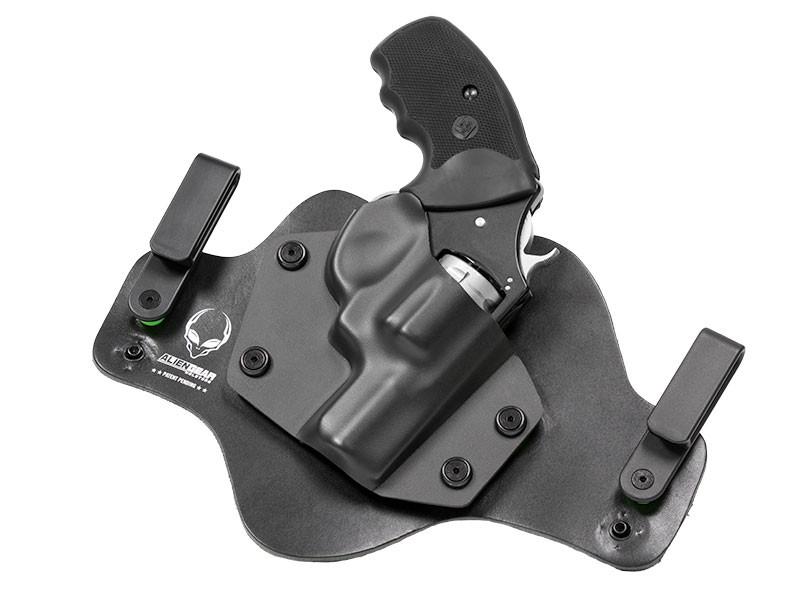 Leather Hybrid S&W K Frame 2 inch Barrel Holster