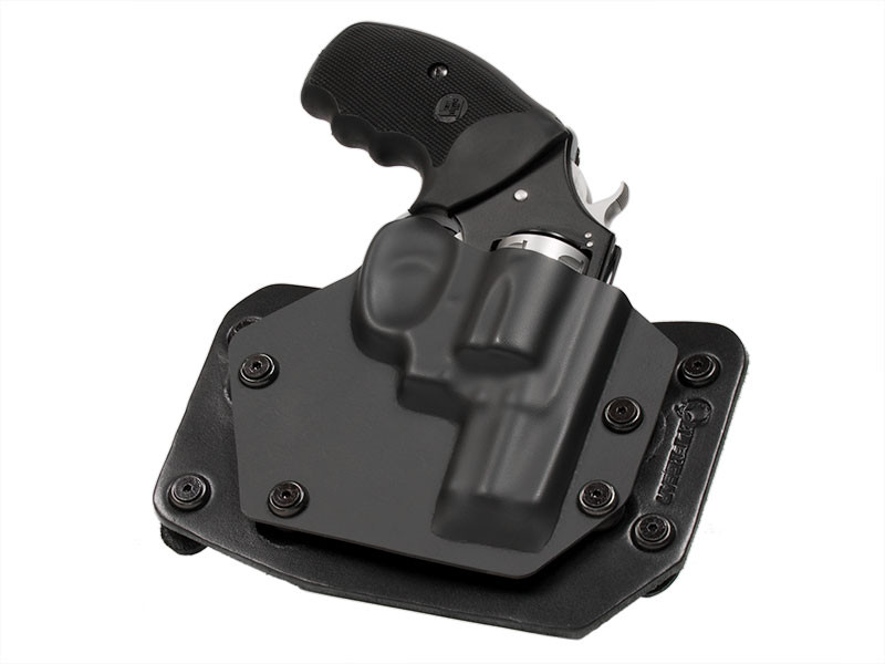 Ruger LCR 22WMR Revolver Outside the Waistband Holster