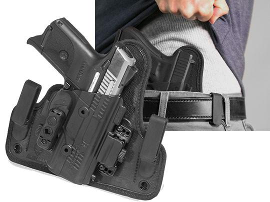 Concealed Inside The Waistband Holster /& Single Mag Fits Ruger SR9C