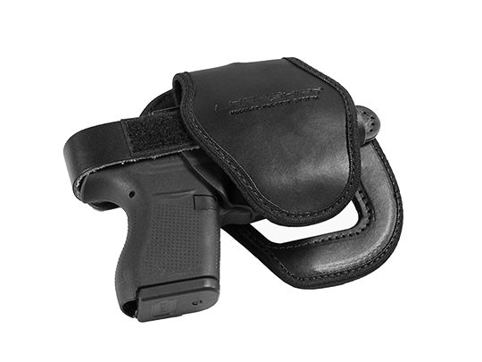 black gun platform with shell for shapeshift shoulder holster