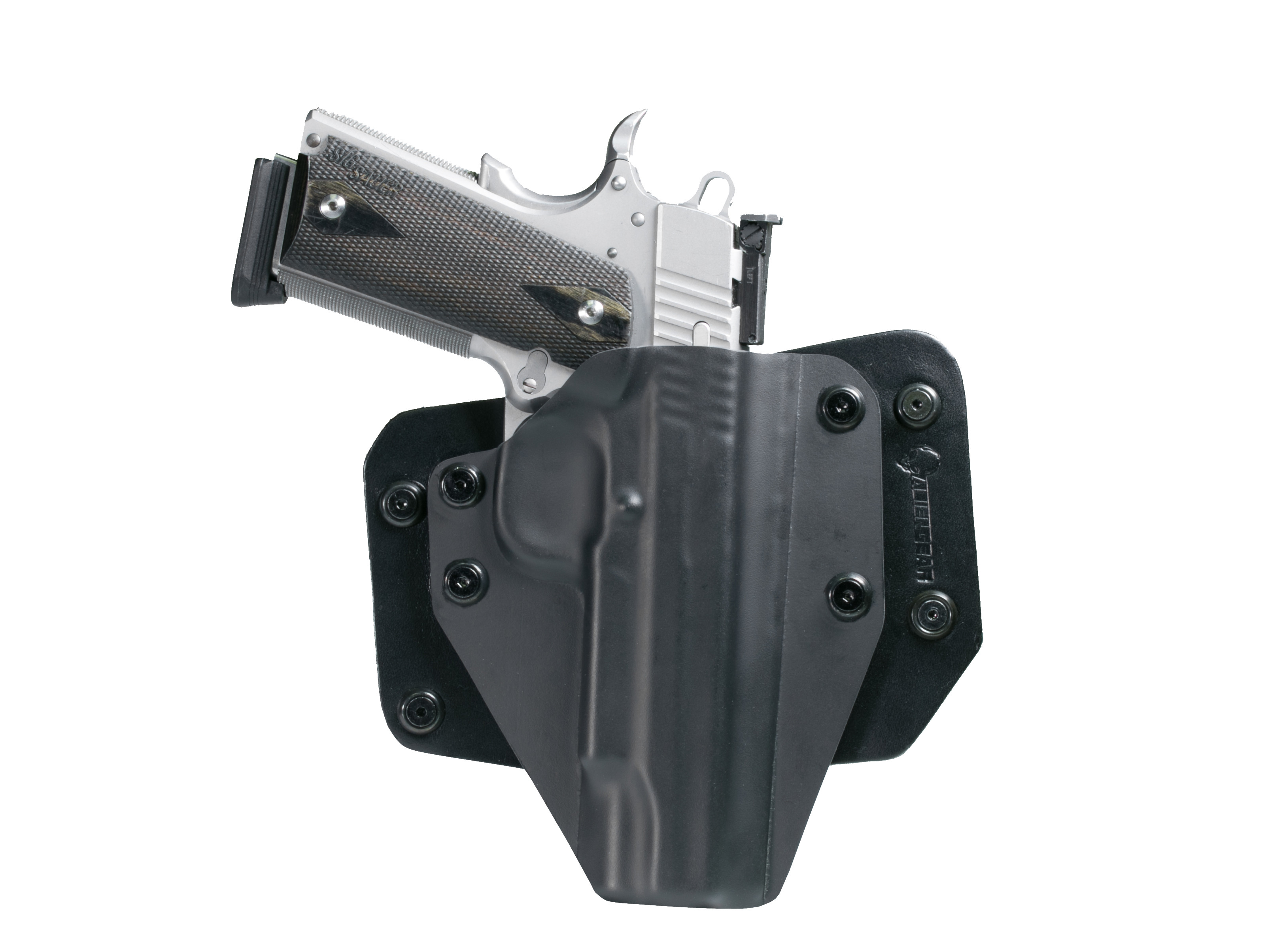 Sig 1911 5 inch barrel Outside the Waistband Holster