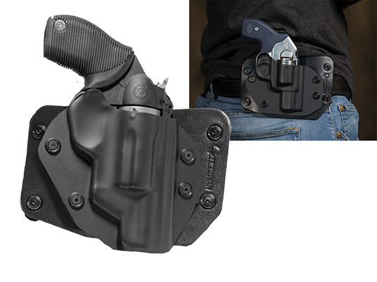 Taurus Judge Poly 2 inch Cloak Slide OWB Holster (Outside the Waistband)