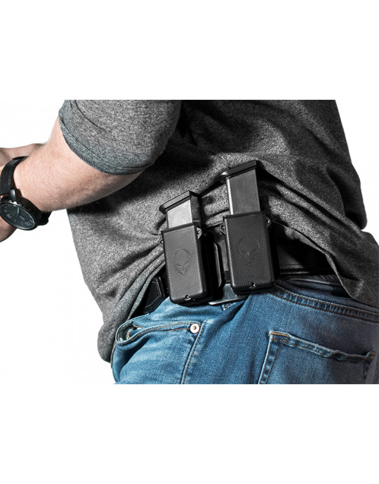 carry extra ammunition with 2 mag carriers