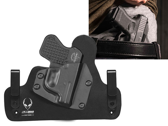 Leather Hybrid Double Tap Defense 9mm Holster