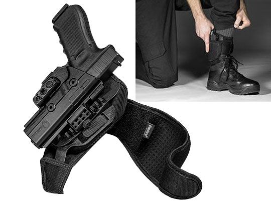 Glock 17 ShapeShift Ankle Holster