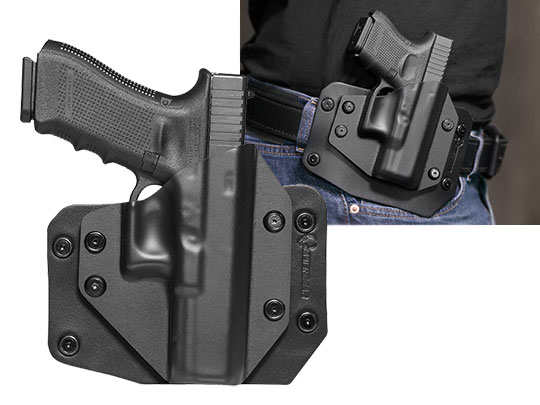 Glock 17 Paddle Carry OWB Holster