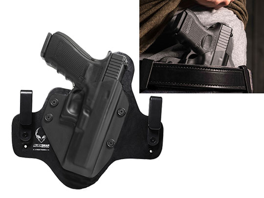 Leather Hybrid Glock 20SF Holster