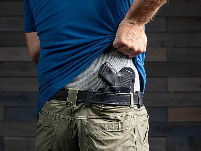 Glock 26 worn IWB