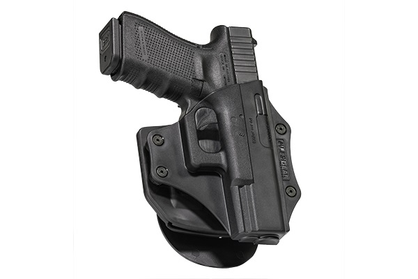OWB Carry with the Glock 32 Paddle Holster