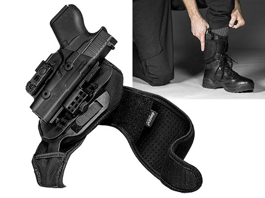 Glock 43 ShapeShift Ankle Holster
