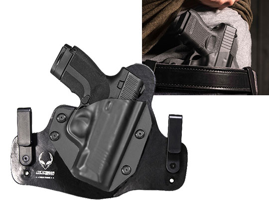 Leather Hybrid Honor Defense Honor Guard Subcompact Holster