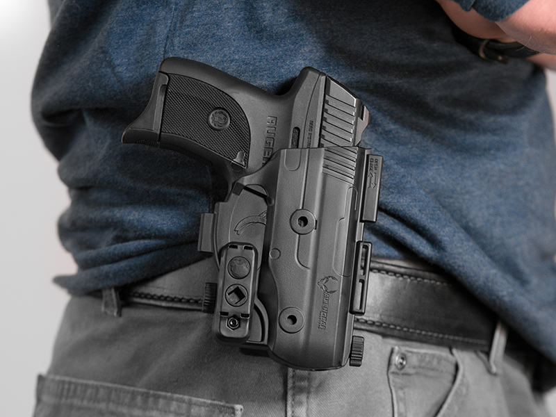 wearing the best ruger lc9 paddle holster