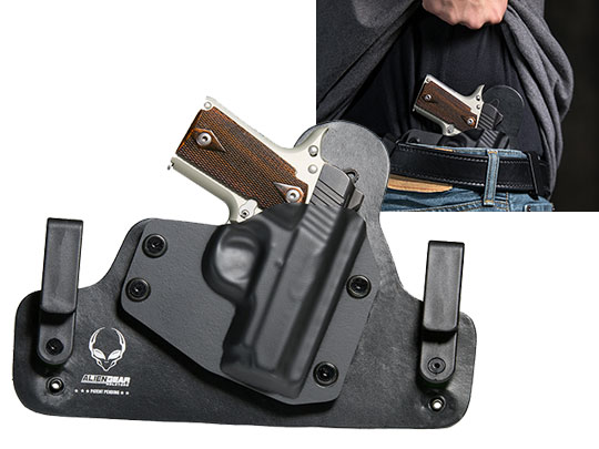 Best Kahr CW 40 Leather Inside the Waistband holster