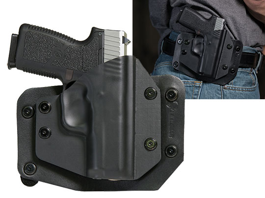 Best Outside the Waistband holster for the kahr cw 40
