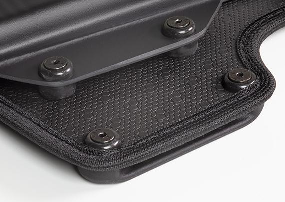 Keltec PF9 with LaserLyte Laser CK-AMF9 Cloak Belt Holster