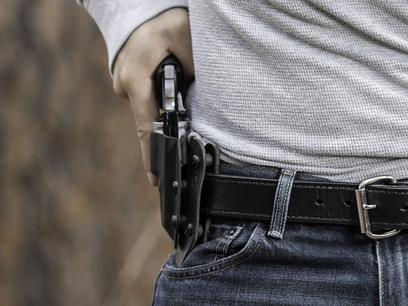OWB Holster for the Kimber K6s revolver