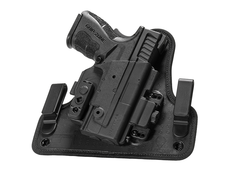 kimber micro 9 inside the waistband shapeshift holster
