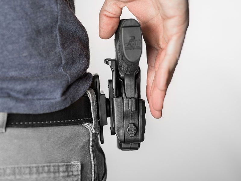 thumb release holster