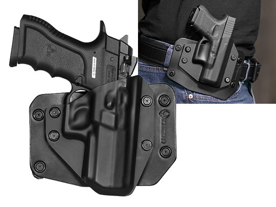 Outside the Waistband Holster for Magnum Research Baby Desert Eagle Semi Compact Polymer With Rail