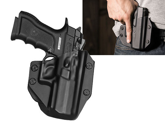 Paddle Holster for Magnum Research Baby Desert Eagle Semi Compact Polymer With Rail