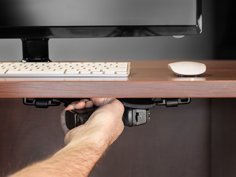 desk holster mount