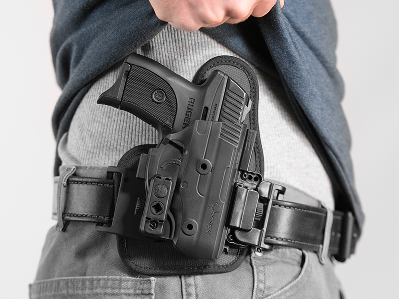 ruger lc9 owb slide shapeshift holster