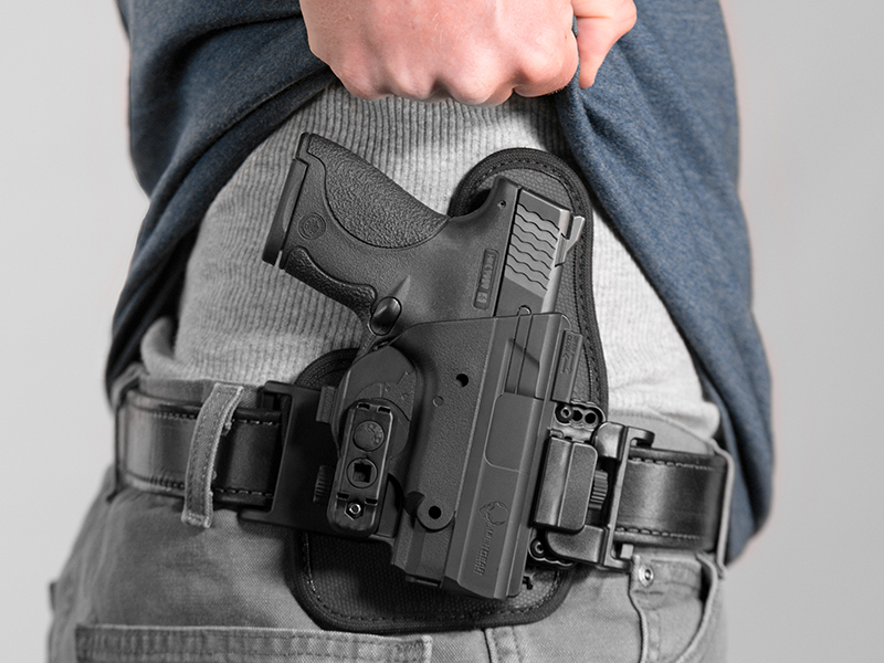 wearing the shield owb concealment holster