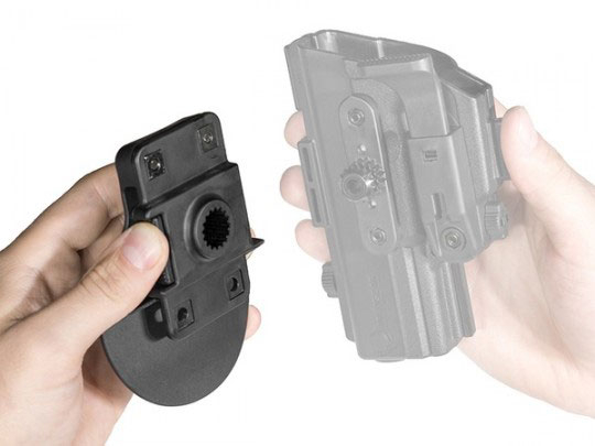 carry as a paddle holster