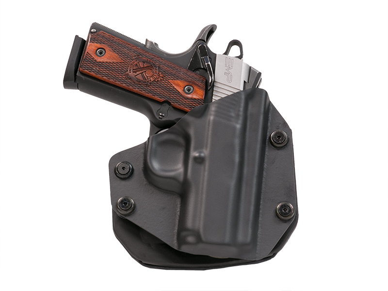 Colt 1911 Defender 3 inch OWB Paddle Holster