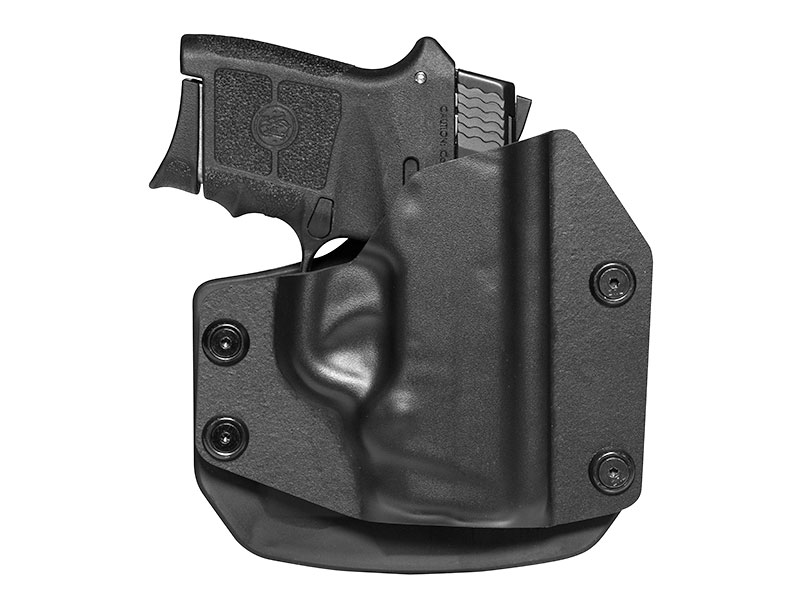 Paddle Holster for S&W Bodyguard .380 Auto w/ Integrated Laser