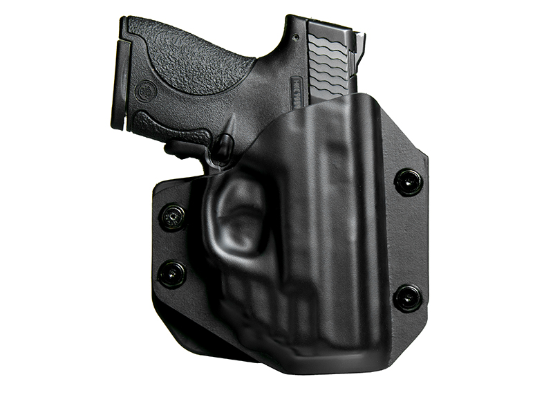 S&W M&P Shield 9mm Crimson Trace Red Laser LG-489 OWB Paddle Holster