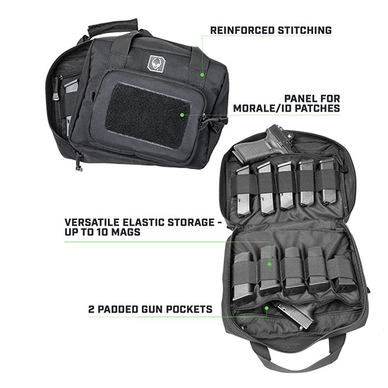 pistol bag features