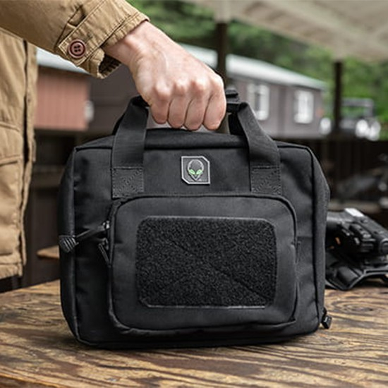 pistol bag front