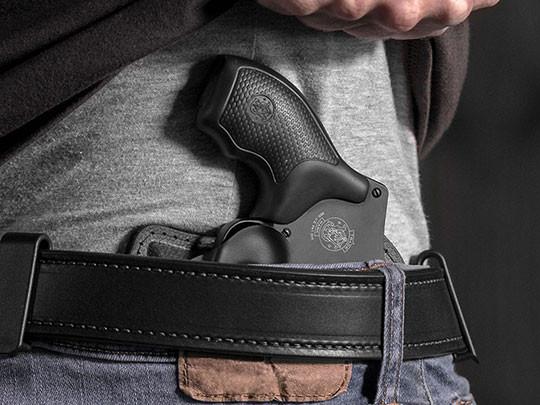revolver inside waistband right hip