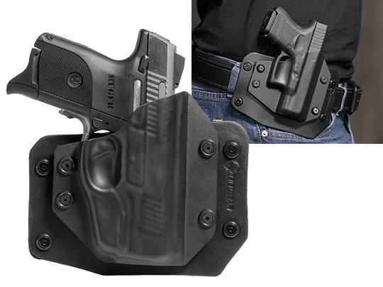 Ruger SR9c Crimson Trace Laser LG-449 Outside the Waistband Holster