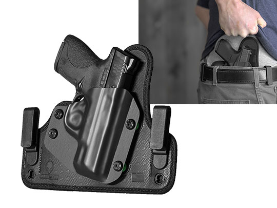 concealment holster for sw mp shield 40 caliber iwb carry