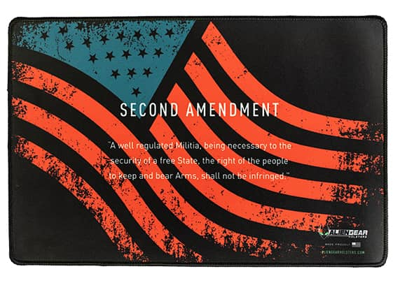 Gun Mat - 2nd Amendment