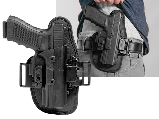 best belt slide owb holster for the glock 22