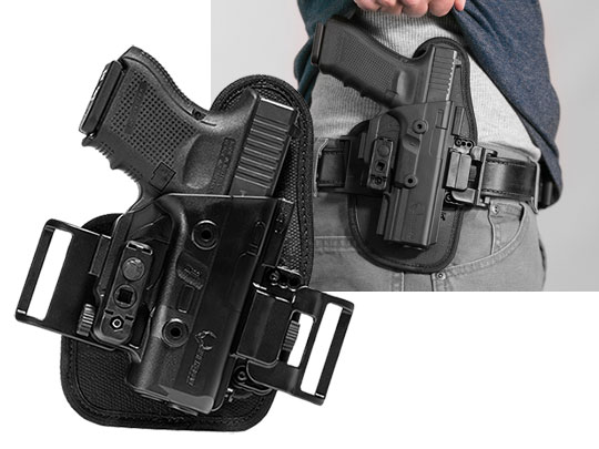 glock 26 owb slide holster for shapeshift