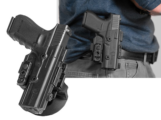 shapeshift paddle holster for the glock 17