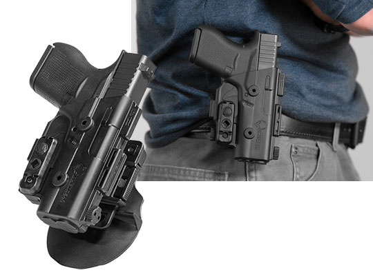 glock 31 owb paddle holster for shapeshift