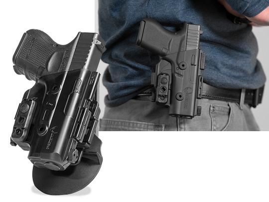 glock 43 paddle holster