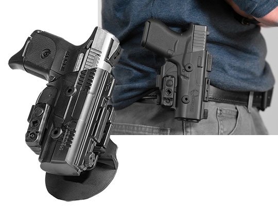 ruger sr40c paddle holster for shapeshift