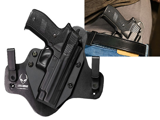 Hybrid Leather Sig P226r Railed Holster