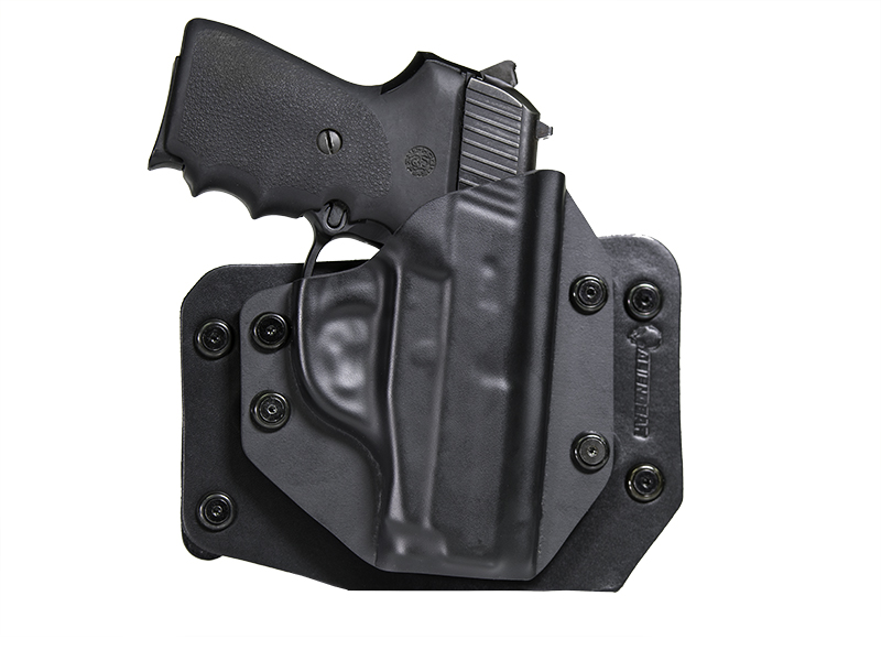 Sig P239 Leather Hybrid OWB Holster