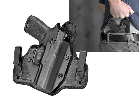 concealment holster for sig p320 compact carry iwb carry